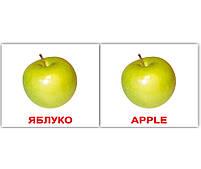 Картки Домана Фрукти/Fruit 40 карток, фото 3