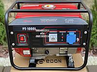Бензиновый электро- генератор Edon PT-1000L 1 kW генератор медная обмотка, фото 1