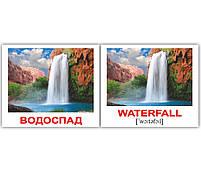 Картки Домана Природа/Nature 40 міні-карток укр-англ, фото 4