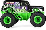 Monster Jam Внедорожник на пульте 1:24 Монстер Джем Трак Hot Wheels Monster Truck Grave Digger джип, фото 2