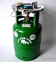 Газовый баллон Пикник Ruddy RK-3 (8 литров) с ветровиком