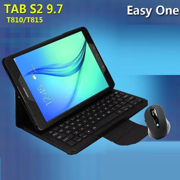 "Samsung T550 555 TAB A 9.7 оригинальный чехол подставка с клавиатурой + мышка для планшета  ""S-BOARD"""
