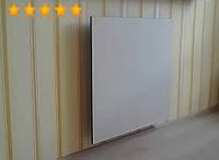 Керамический инфракрасный обогреватель, электрический TEPLOCERAMIC ТС 395, 395Вт, белый для дома, настенный