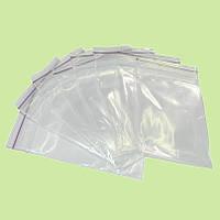 Пакеты с zip замкам прозрачные 40х60 мм