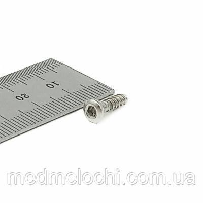 Гвинт кортикальний D=4,5мм, 14мм SS