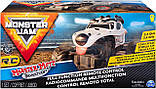 Monster Jam Внедорожник на пульте 1:24 Монстер Джем Трак Hot Wheels Monster Truck Mutt Dalmatia джип, фото 5