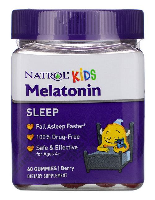 Мелатонін Natrol kid's Melatonin 1 mg - 60 марм
