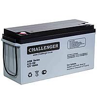 Аккумуляторная батарея Challenger A12-150, 12В, 150Ач, AGM
