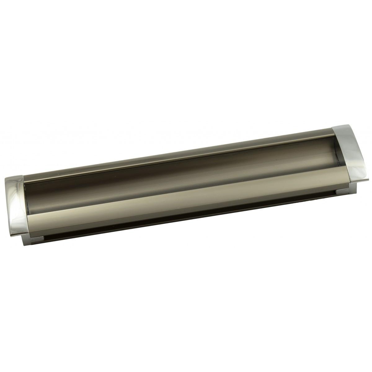 Ручка меблева Ozkardesler 14.200-06/022 GOммE BOY KULP 160мм Хром-Сталь