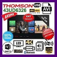 Телевизор Thomson 43UD6326. Thomson Smart TV HDR MP3 JPEG. LCD-телевизор томсон LCD-телевизор THOMSON