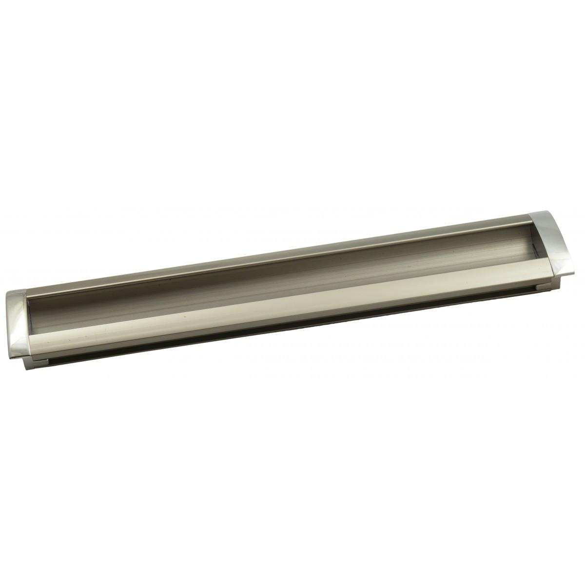 Ручка меблева Ozkardesler 14.202-06/022 GOммE BOY KULP 224мм Хром-Сталь