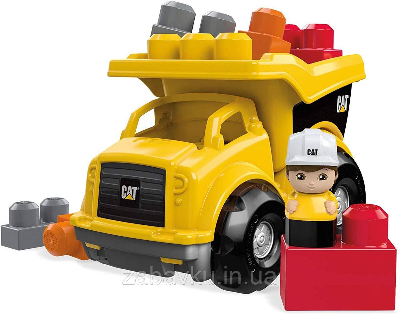 Грузовик Мега Блокс Mega Bloks Cat Lil´ Dump Truck Строительная техника Catepillar