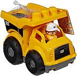 Грузовик Мега Блокс Mega Bloks Cat Lil´ Dump Truck Строительная техника Catepillar, фото 7