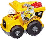 Грузовик Мега Блокс Mega Bloks Cat Lil´ Dump Truck Строительная техника Catepillar, фото 5