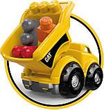 Грузовик Мега Блокс Mega Bloks Cat Lil´ Dump Truck Строительная техника Catepillar, фото 4