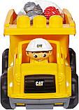 Грузовик Мега Блокс Mega Bloks Cat Lil´ Dump Truck Строительная техника Catepillar, фото 6