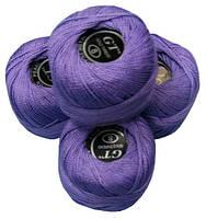 Нитки ирис фиолетовый № 111