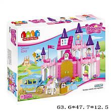 Конструктор princess JDLT  5242 замок дом крупные детали
