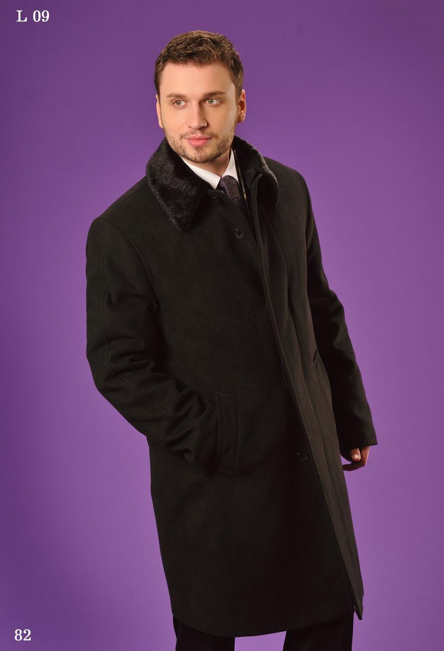 """Пальто мужское зимнее""""West-Fashion"""" модель L 09P"""