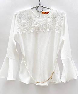 Блуза для девочки, размеры 6, 7, 8, 10 лет