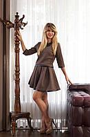 Молодёжный женский костюм из стёганого трикотажа, фото 1