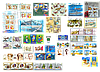 2004 год комплект художественных марок