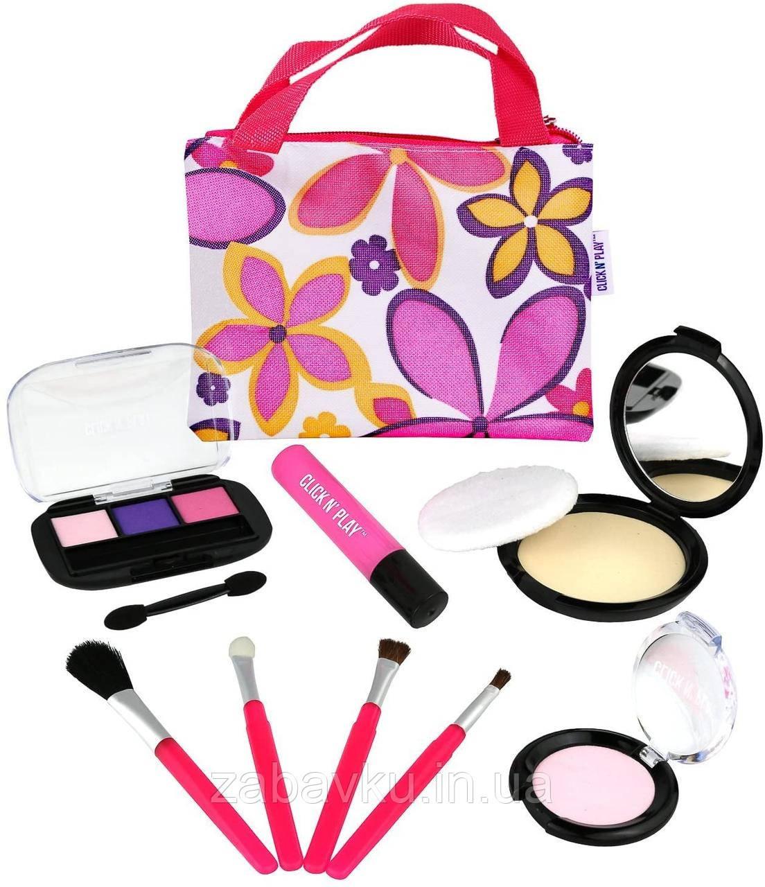 Набор игрушечной косметики для девочки Click N´ Play Pretend Play Cosmetic and Makeup Set