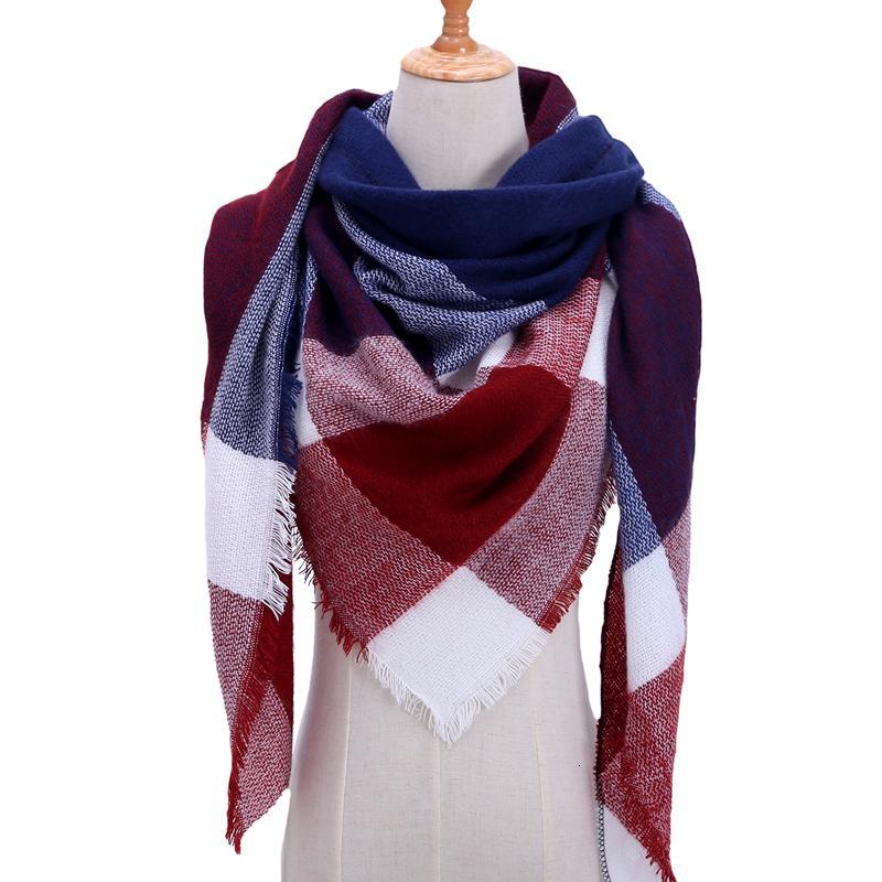 Платок шарф на шею женский 12 цветов