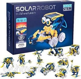 Конструктор робот на солнечной батарее 11 в 1 Solar Robot Build and Learn