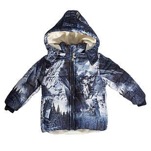 Зимова куртка для хлопчика, еврозима, розмір 3 роки