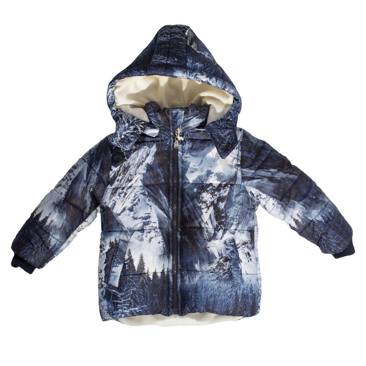 Зимняя куртка для мальчика, еврозима, размер 3 года