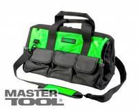 MasterTool Сумка для инструментов 460*240*280 мм, 1680 DEN, 22 кармана, усиленное дно, съемный ремешок, Арт.: