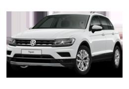 Дефлектор на капот (Мухобойки) для Volkswagen (Фольксваген) Tiguan II 2016+