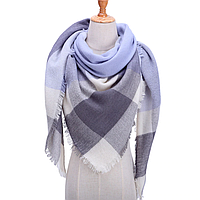 Платок шарф на шею женский 12 цветов P-2
