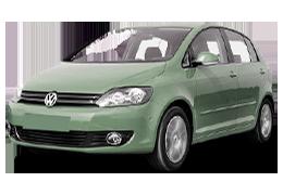 Дефлектор на капот (Мухобойки) для Volkswagen (Фольксваген) Golf 5 Plus 2005-2009