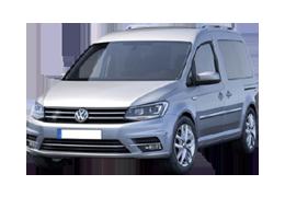 Дефлектор на капот (Мухобойки) для Volkswagen (Фольксваген) Caddy IV (Фейслифтинг) 2015+