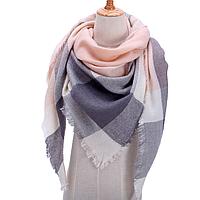 Платок шарф на шею женский 12 цветов P-3