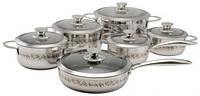 Набор посуды Lyric 12 предметов Krauff 26-188-022