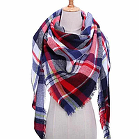 Платок шарф на шею женский 12 цветов P-5
