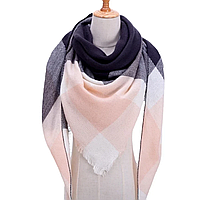 Платок шарф на шею женский 12 цветов P-4