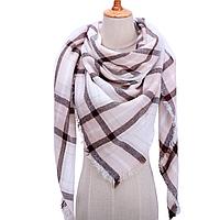 Платок шарф на шею женский 12 цветов P-7