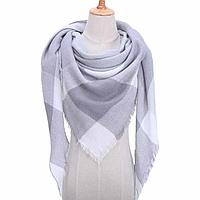 Платок шарф на шею женский 12 цветов P-8
