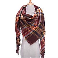 Платок шарф на шею женский 12 цветов P-9