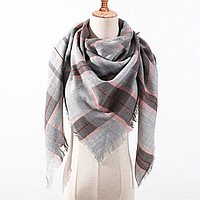 Платок шарф на шею женский 12 цветов P-11