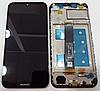Дисплей (экран) для Huawei Honor 8S/Y5 2019 + тачскрин, черный, с передней панелью