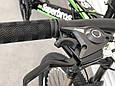 Спортивный горный подростковый велосипед TopRider 285 24 дюйма колеса Салатовый, фото 6
