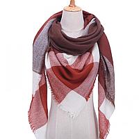 Платок шарф на шею женский 12 цветов P-12