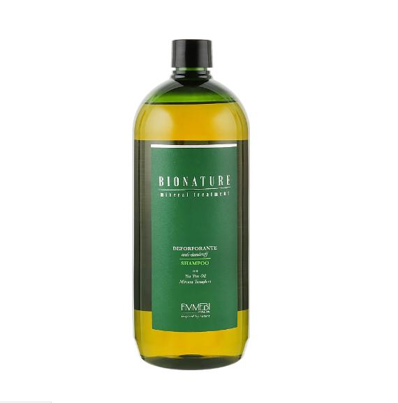 Шампунь проти лупи Emmebi Italia Mineral Treatment Deforforante Anti-Dandruff Shampoo 1л