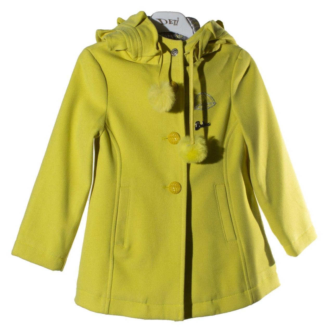 Демисезонное пальто для девочки, осень/весна, размер 2 года