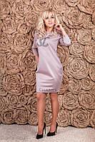 Стильное женское платье, размеры 44-56, фото 1
